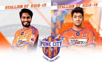Alwyn George and Nikhil Poojari come home with FC Pune City (Images courtesy: FC Pune City))