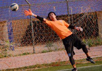 Bengaluru FC goalkeeper Soram Poirei (Photo courtesy: Bengaluru FC)