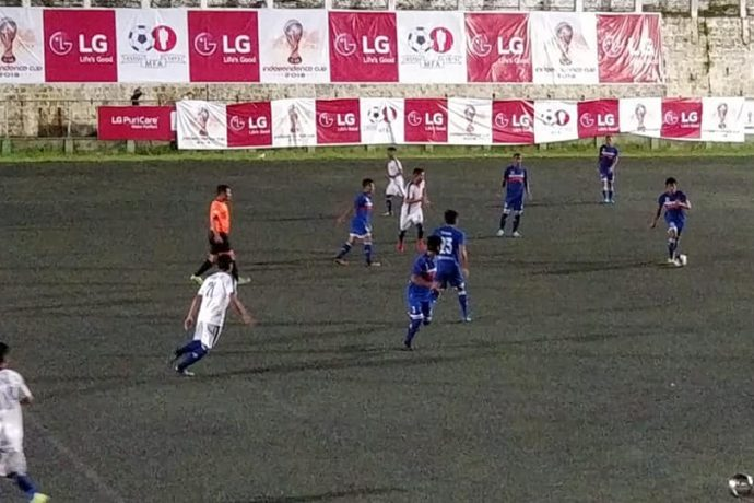 Reigning champions Chhinga Veng FC make no mistakes in LG Independence Cup (Photo courtesy: Mizoram Football Association)