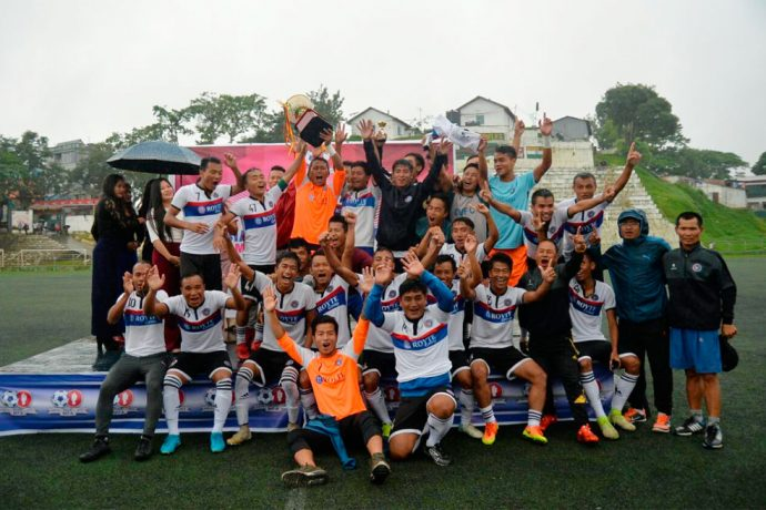 Chhinga Veng FC retain their Lalbiakliana Memorial MFA Super Cup crown. (Photo courtesy: PC Lala)