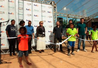 Field in a Box provides opportunities for young people in Brazil (Photo courtesy: UEFA)