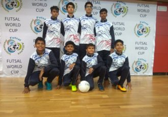 IFA Youth Futsal World Cup selects five players from Leon's World. (Photo courtesy: PRNewsfoto/Rustomjee)