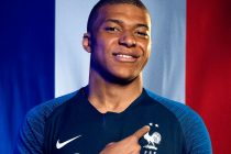 Teenage sensation Kylian Mbappe wearing the two-star France jersey by Nike. (Photo courtesy: Nike)