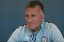 Melbourne City FC head coach Warren Joyce. (Photo courtesy: Screenshot - Melbourne City FC TV)