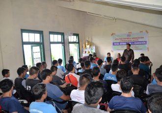 Mizoram FA Futsal Referee Clinic & Examination in Aizawl. (Photo courtesy: Mizoram Football Association)