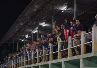 Football fans in Aizawl, Mizoram. (Photo courtesy: Mizoram Football Association)