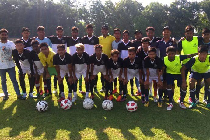 Mohammedan Sporting Club U-19 team for the U-19 IFA Shield 2018 (Photo courtesy: Mohammedan Sporting Club)