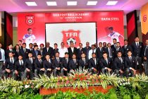 Tata Football Academy organises its 12th Cadet Convocation 2018. (Photo courtesy: Tata Steel)