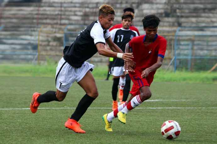 Mohammedan Sporting Club U-19 held by ATK U-19 in 122nd U-19 IFA Shield 2018 opener. (Photo courtesy: Mohammedan Sporting Club)