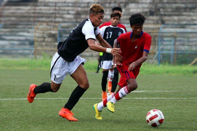 Mohammedan Sporting Club U-19 held by ATK U-19 in 122nd U-19 IFA Shield 2018 opener. (Photo courtesy: Mohammedan Sporting Club)
