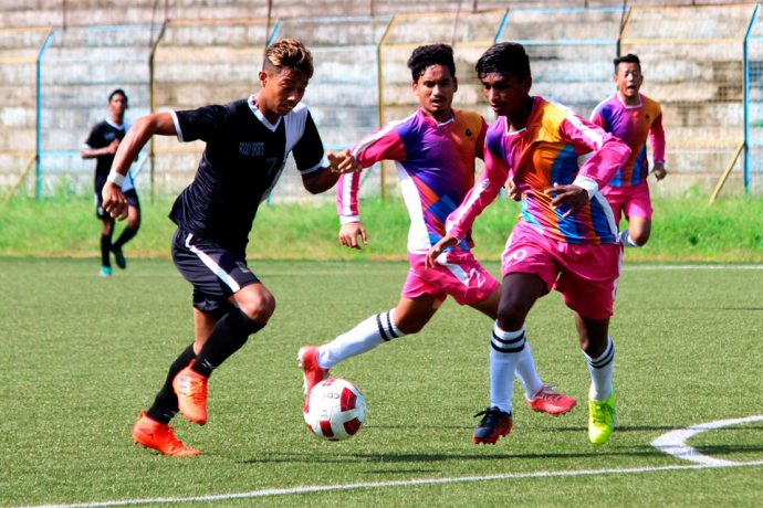 SAIL Football Academy trash Mohammedan Sporting in 122nd U-19 IFA Shield 2018. (Photo courtesy: Mohammedan Sporting Club)