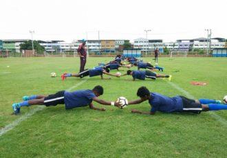 India U-16 national team training session (Photo courtesy: AIFF Media)
