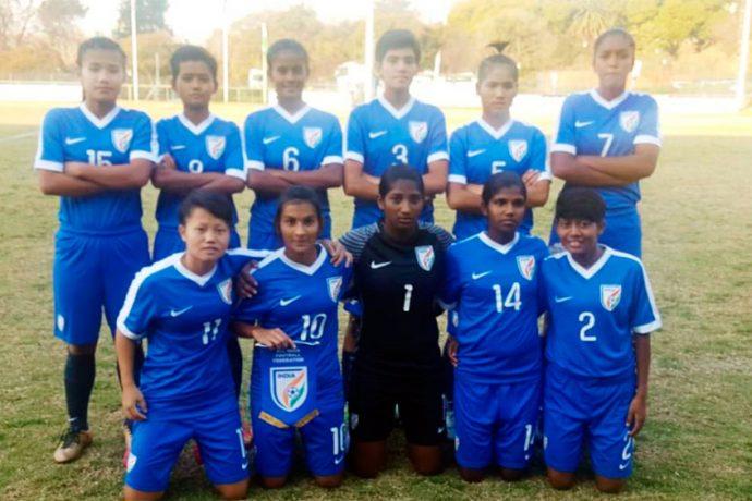 India U-17 Women's national team (Photo courtesy: AIFF Media)
