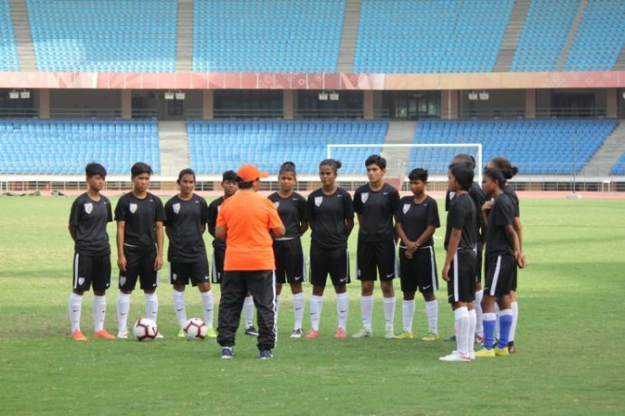 India U-17 Women's national team (Photo courtesy: AIFF Media)