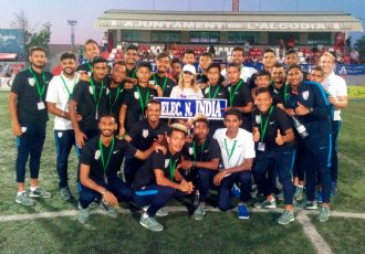 India U-20 national team (Photo courtesy: AIFF Media)