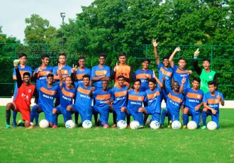 Youngsters from the SESA Football Academy in Goa. (Photo courtesy: SESA Football Academy)
