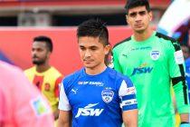 Bengaluru FC star skipper Sunil Chhetri (Photo courtesy: Bengaluru FC)
