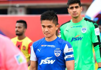 Bengaluru FC star skipper Sunil Chhetri (Photo courtesy: Bengaluru FC)
