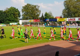 Match action during the 1. FC Union Berlin vs Norwich City FC pre-season friendly match at the AM-Stadion in Delbrück, Germany. (© CPD Football)