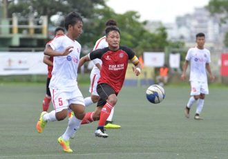 Aizawl FC wins over Ramhlun North FC in LG Independence Cup (Photo courtesy: Mizoram Football Association)