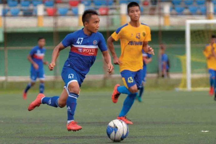 Chhinga Veng FC top LG Independence Cup Group B with maximum points. (Photo courtesy: Mizoram Football Association)