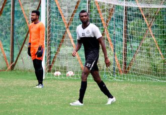 Mohammedan Sporting Club striker Emenka Stephen Harry (Photo courtesy: Mohammedan Sporting Club)