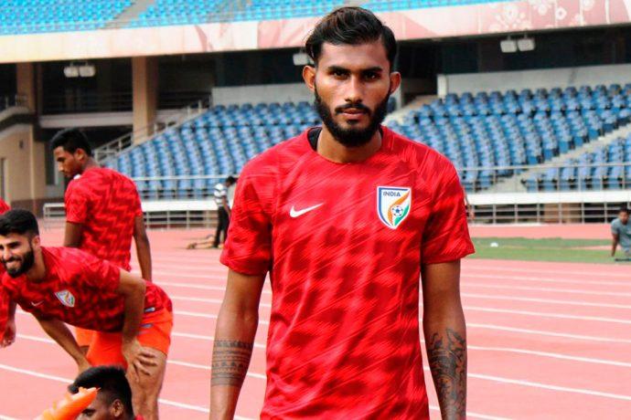 Indian national team defender Subhasish Bose (Photo courtesy: AIFF Media)