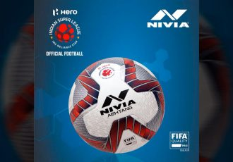 NIVIA Ashtang, the offical match ball of the Hero Indian Super League (ISL). (Photo courtesy: NIVIA)