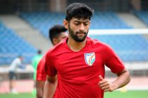 Nikhil Poojary during an Indian national team training session in New Delhi. (Photo courtesy: AIFF Media)