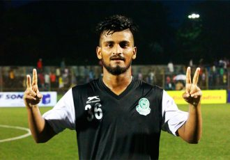 Mohammedan Sporting Club star Prosenjit Chakraborty (Photo courtesy: Mohammedan Sporting Club)