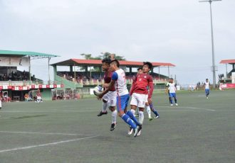 Ramhlun North FC and Electric Veng FC share spoils in LG Independence Cup. (Photo courtesy: Mizoram Football Association)