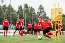 Austria and TSG 1899 Hoffenheim midfielder Jenny Klein. (Photo courtesy: UEFA)