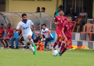 Dempo SC pip FC Goa Reserves in AWES Cup 2018 opener. (Photo courtesy: AWES)