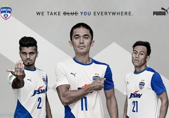 Bengaluru FC to debut their new PUMA 2018/19 away kit today (Photo courtesy: Bengaluru FC)