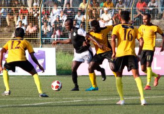 Aryan Club stun Mohammedan Sporting Club in Calcutta Football League (CFL) match of father vs son. (Photo courtesy: Mohammedan Sporting Club)