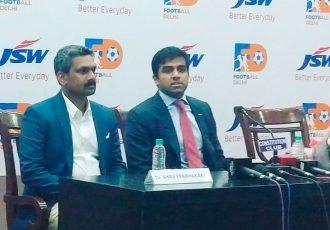 Football Delhi signs three-year partnership contract with JSW Sports (Photo courtesy: Football Delhi)
