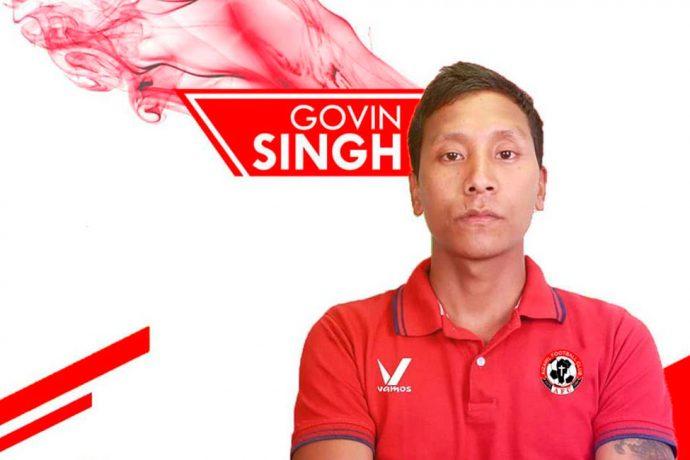 Aizawl FC sign former India defender Govin Moirangthem Singh (Photo courtesy: Aizawl FC)