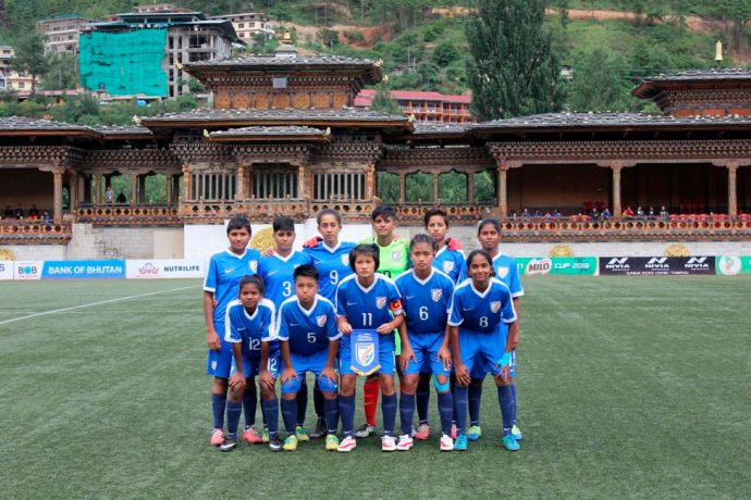 India U-15 Women's National Team (Photo courtesy: AIFF Media)