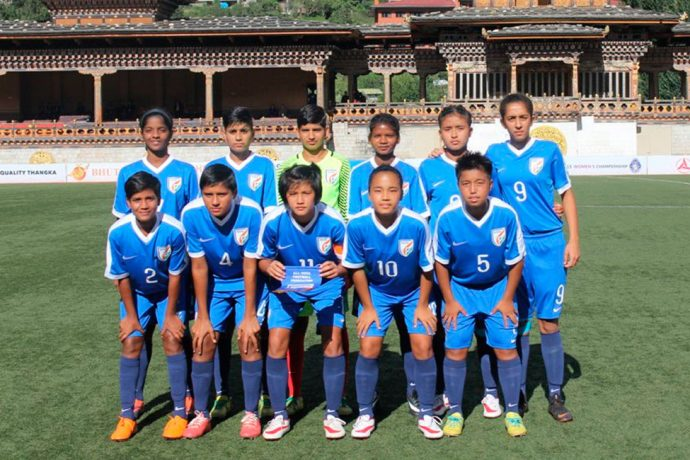 India U-15 Women's National Team (Photo courtesy: AIFF Media)