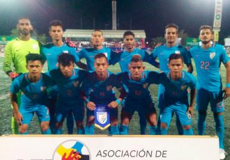 India U-20 national team at the COTIF Tournament in Valencia, Spain. (Photo courtesy: AIFF Media)