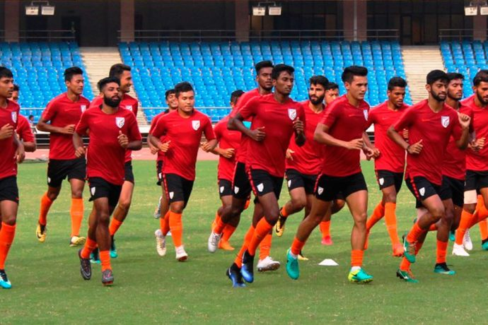 India U-23 National Team (Photo courtesy: AIFF Media)