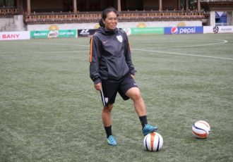 Indian Women's football legend Oinam Bembem Devi (Photo courtesy: AIFF Media)