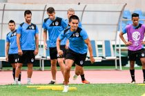Sunil Chhetri during a Bengaluru FC training session. (Photo courtesy: Bengaluru FC)