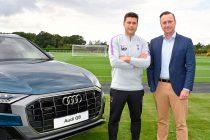Tottenham Hotspur announces Audi as the club's Official Car Partner (Photo courtesy: Audi)