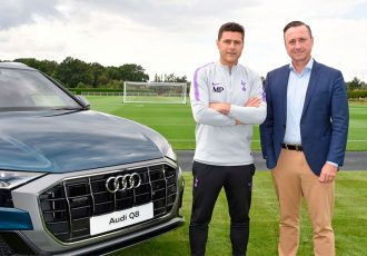 Tottenham Hotspur announces Audi as the club's Official Car Partner (Photo courtesy: Audi)