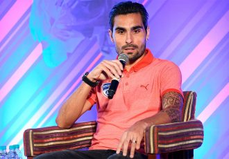 Bengaluru FC playmaker Dimas Delgado during the ISL Media Day in Bengaluru. (Photo courtesy: Bengaluru FC)