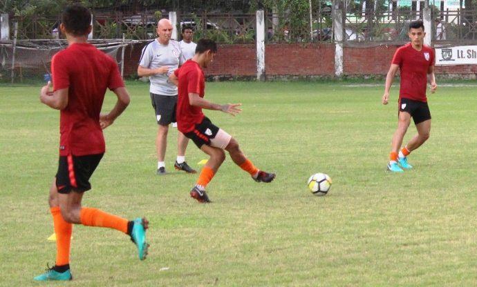 Indian national team training session (Photo courtesy: AIFF Media)