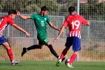 Match action during the pre-season friendly match Clube Atletico de Madrid vs Jamshedpur in Madrid, Spain. (Photo courtesy: Jamshedpur FC)