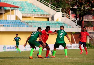 ONGC prove two good for Sesa FA in AWES Cup 2018 (Photo courtesy: AWES)