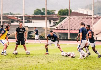 Chennaiyin FC training session (Photo courtesy: Chennaiyin FC)